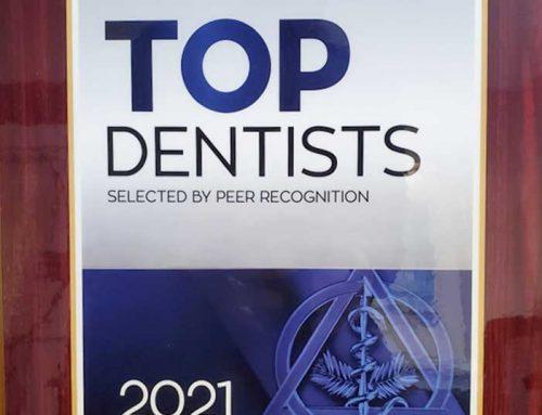 Dr. Georgaklis Named Top Dentist 2021