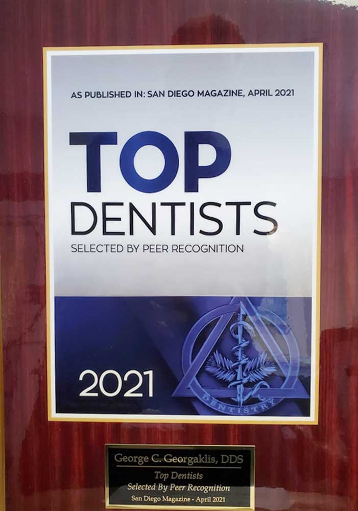 Dr George Georgaklis Top Dentist 2021